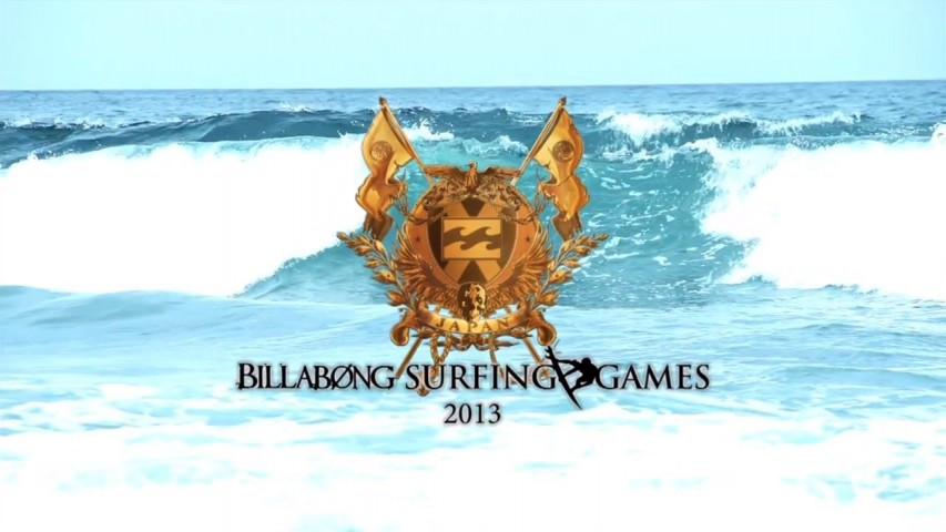 「BILLABONG SURFING GAMES -2013」ティーザー