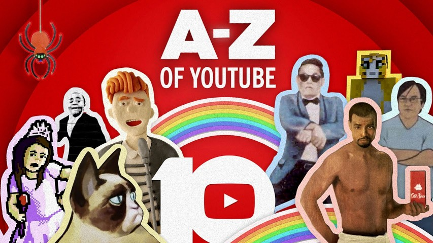 The A-Z of YouTube: Celebrating 10 Years